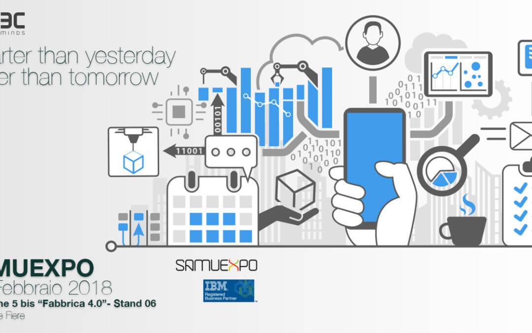 SAMUEXPO2018 Fabbrica 4.0 – Etec Minds ti porta nell'industria di domani